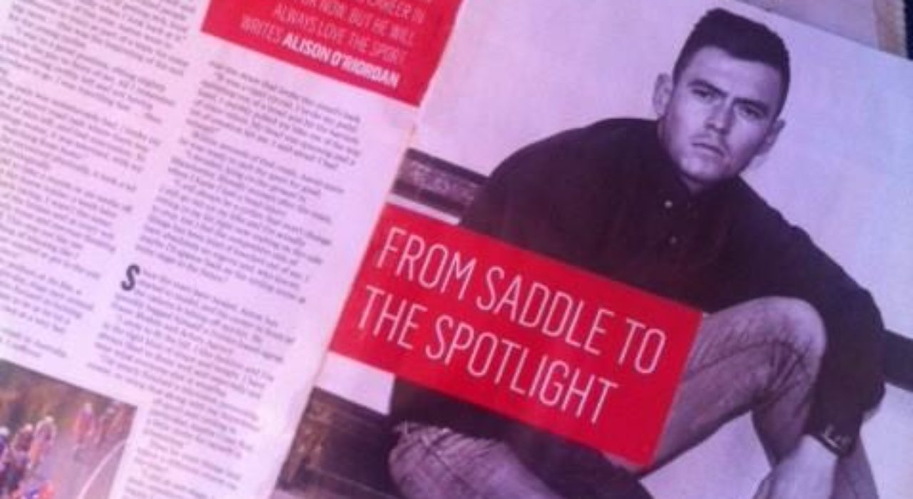 """From Saddle to Spotlight, Aaron Buggle features in """"Fit Magazine"""""""