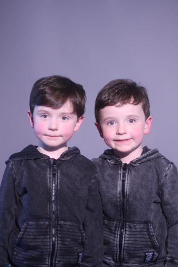 Finn and Luca