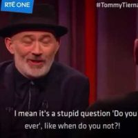 Baz and Tommy Tiernan